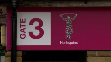 Harlequins prepare for Premiership restart