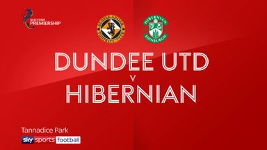 Dundee United 0-1 Hibernian