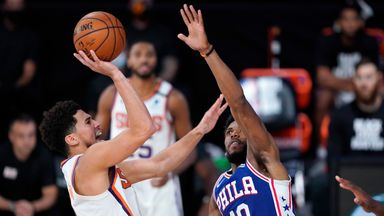 Booker lights up Sixers for 35 points