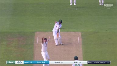 Anderson strikes early as Masood out