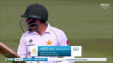 Curran dismisses Abid Ali for 60