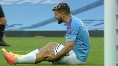 Aguero ruled out of Man City vs Lyon