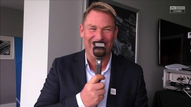 Warne's plea for Dhoni to play Hundred
