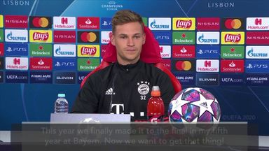 Kimmich: CL final is special