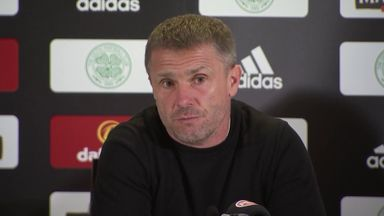 Rebrov: We took our chances against Celtic