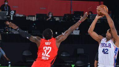76ers 134-96 Rockets
