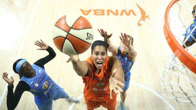 WNBA: Sun 77-74 Sky