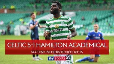 Celtic 5-1 Hamilton