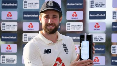 Woakes elated at role in England win