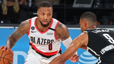 Lillard lifts Blazers with 42 points