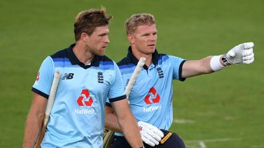 Billings and Willey see England home