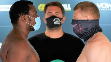 Whyte: Ready for chaos and destruction