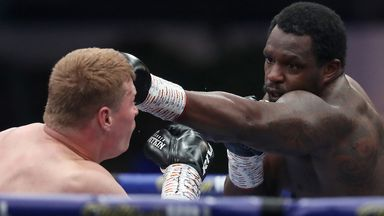 Whyte wants Povetkin rematch in November
