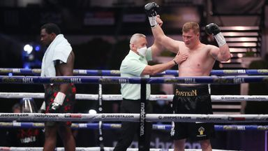 'Povetkin's KO was once in a lifetime'