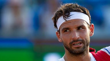 Dimitrov on battling the coronavirus