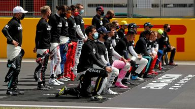 F1 drivers send anti-racism message
