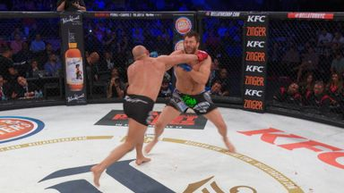 Mitrione, Fedor's double knockdown!
