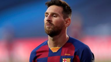 Messi set for talks with Barcelona