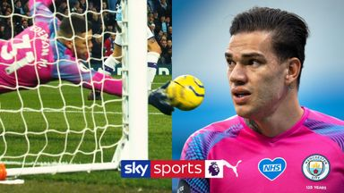 Ederson's PL saves of the season