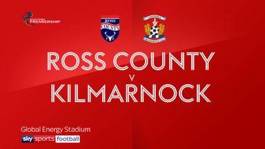 Ross County 2-2 Kilmarnock