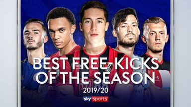 Best Premier League free-kicks 2019-20