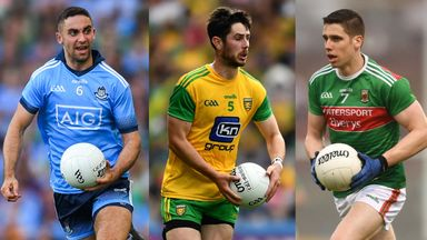 Top five half-backs in Gaelic football