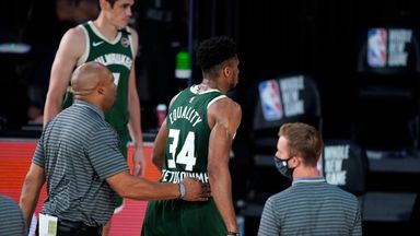 Giannis on head-butt: I will learn from it