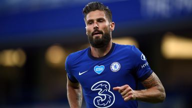 Does Giroud's future lie with Chelsea?