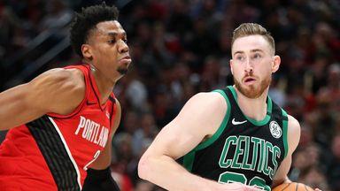 Watch Blazers @ Celtics live on Sky Sports