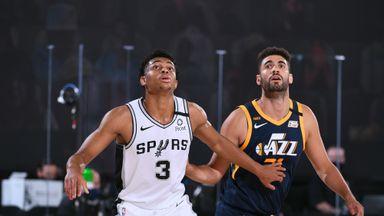 Spurs 112-118 Jazz