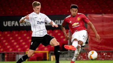 Ole: Lingard is growing in confidence