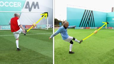 All of Bullard's goal recreations on Soccer AM!