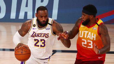 Lakers 116-108 Jazz
