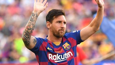 Messi to stay at Barcelona next season