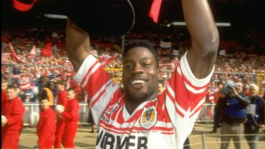 Martin Offiah: RL's iconic try-scorer