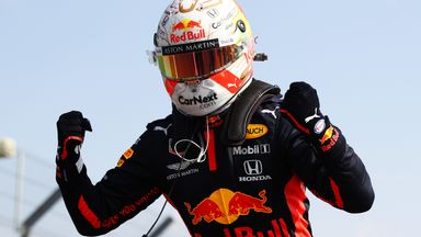 Verstappen wins 70th Anniversary GP!