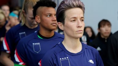 'I would vote for Rapinoe as President!'