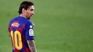 'I'm surprised at Messi's openness'