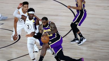 Lakers 111-116 Pacers