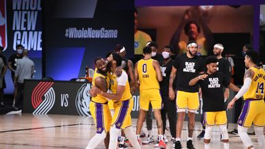 Kuzma comes up clutch for Lakers