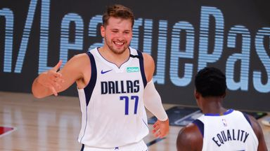 Doncic's 17th triple-double downs Bucks