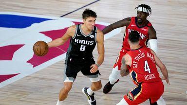 Bogdanovic hits career-high 35 in Kings win