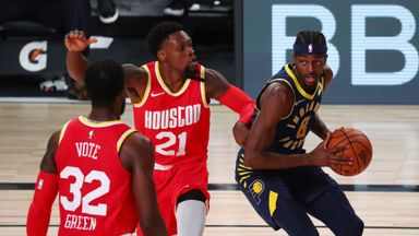 Pacers 108-104 Rockets