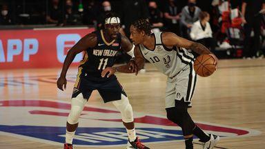 Spurs 122-113 Pelicans
