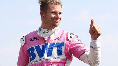 Perez praises F1 deputy Hulkenberg