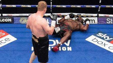 Povetkin shocks Whyte with huge KO!