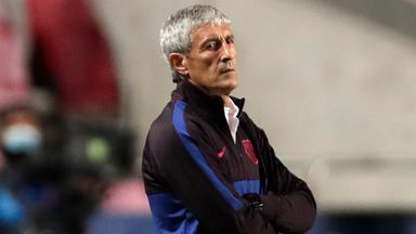 Setien: Defeat painful, we must recover