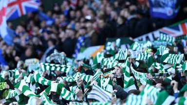 Old Firm fans urged to stay at home