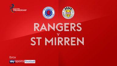 Rangers 3-0 St Mirren