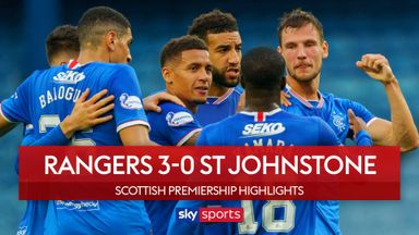 Rangers 3-0 St Johnstone